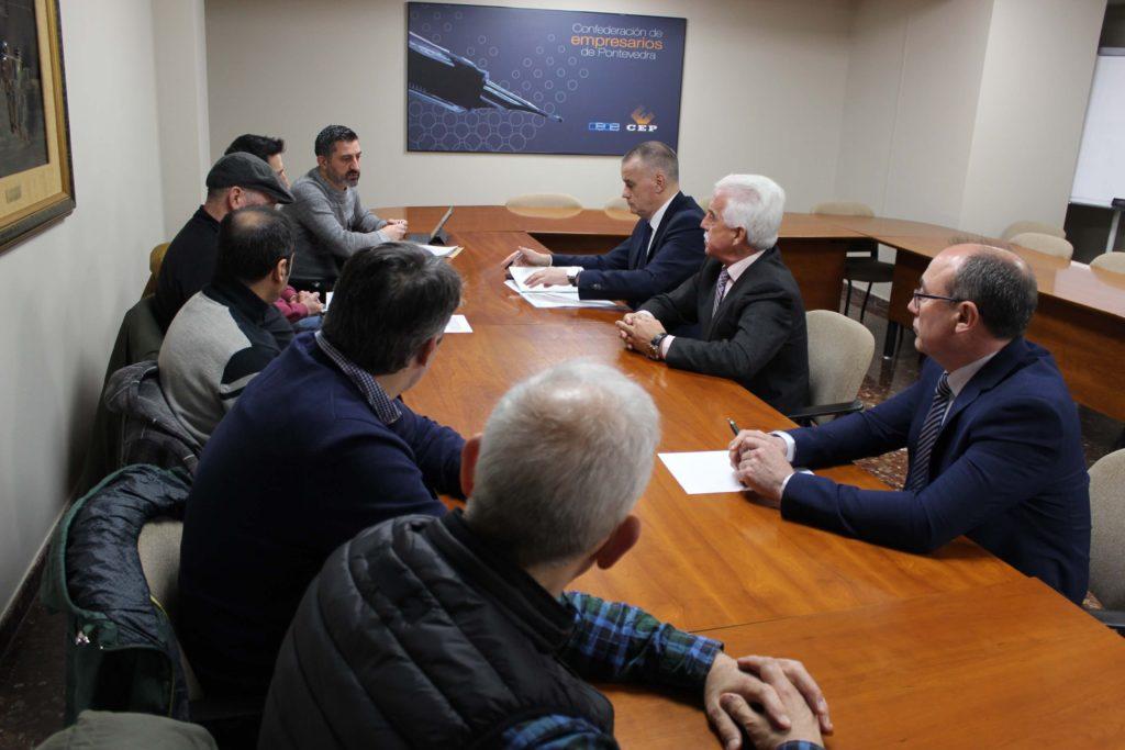 Reunión Sindicatos Vulcano<br /> miembros Consejo APV