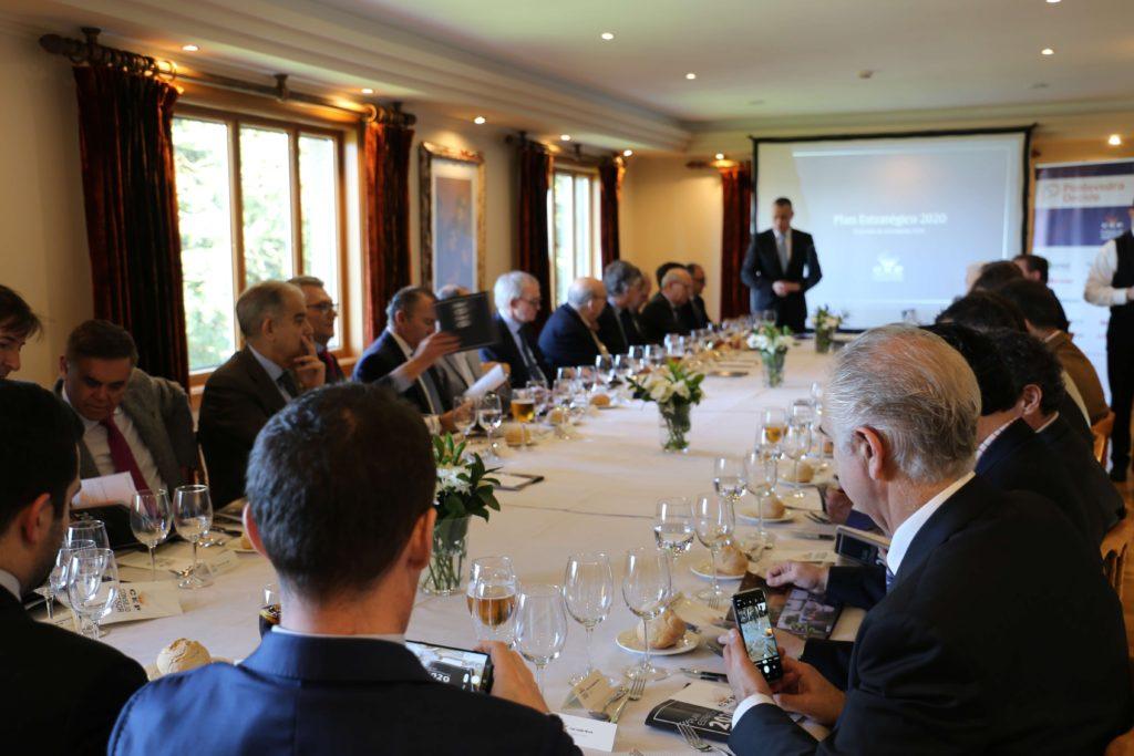 Almuerzo Consejo Asesor <br /> Antón Costas