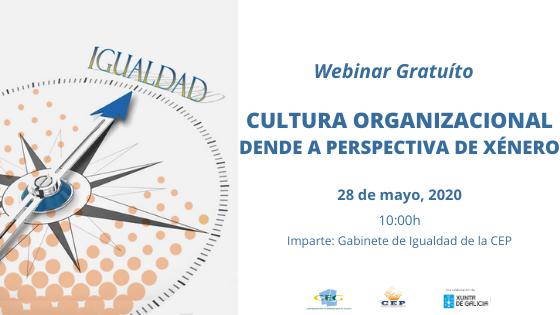 Webinar| Cultura organizacional desde la perspectiva de género