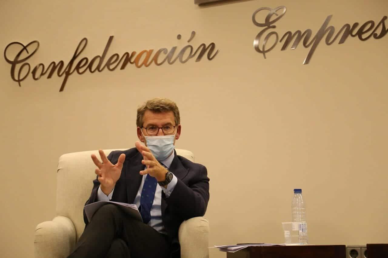 Visita CONECTACEP Alberto Núñez Feijóo