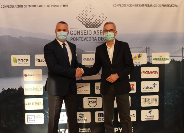 La CEP y Telefónica firman un acuerdo de renovación tecnológica