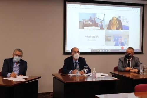 El Puerto de Vigo presenta a la Comisión de Logística de la CEP sus líneas estratégicas de desarrollo